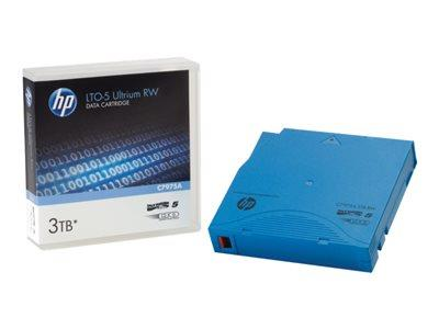 HPE HP LTO-5 Ultrium 3 TB RW Eco Pack Custom Labelled Cart 20 pk