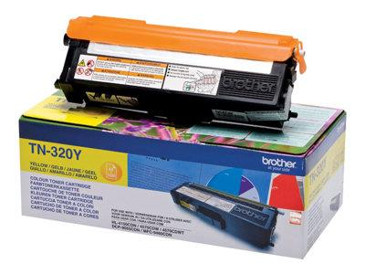 Brother TN320Y 1.5k Yellow Toner