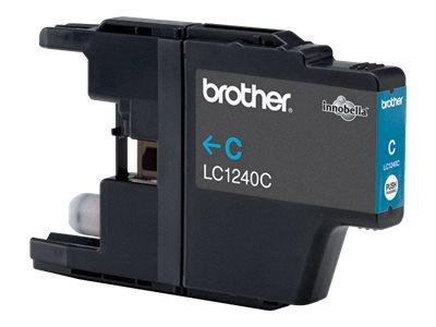 Brother LC1240C - Print cartridge - 1 x cyan - 600 pages