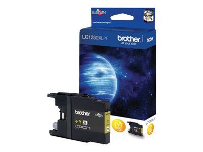 Brother LC1280XLY - Print cartridge - 1 x yellow - 1200 pages