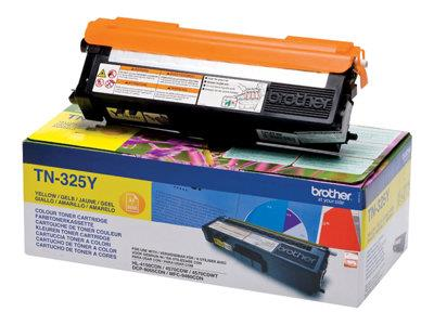 Brother TN325Y - Toner cartridge - 1 x yellow - 3500 pages