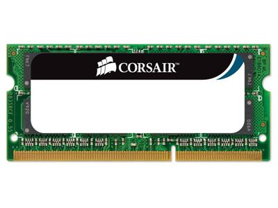 Corsair 4GB (1x4GB) DDR3 1066Mhz CL7 Apple SODIMM  Certified Apple Mac Memory Module