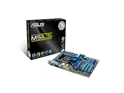 Asus AM3+ AMD 760G + SB710 DDR3 ATX (5200MT/S) USB 3.0