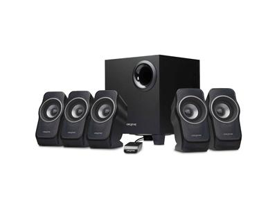 Creative A520 - 5.1-channel PC multimedia home theatre speaker system - 37 Watt (Total)