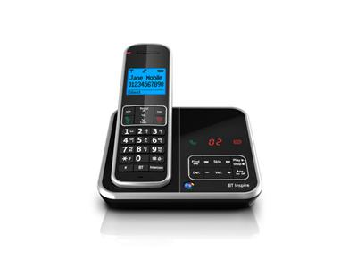 BT Inspire 1500 Cordless Phone with Answer Machine