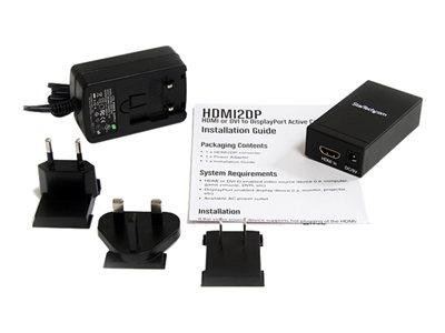 StarTech.com HDMI or DVI to DisplayPort Active Converter