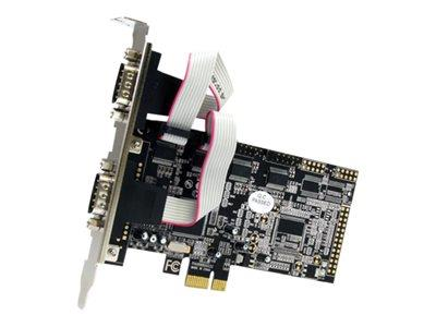 StarTech.com 4 Port Native PCI Express RS232 Serial Adapter Card with 16550 UART