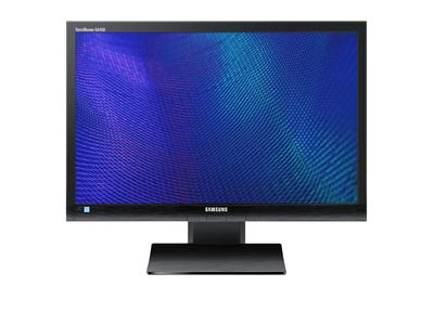 "Samsung SyncMaster S24A450BW - LCD display - TFT - LED backlight - 24"" - widescreen - matte black"