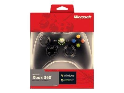 Microsoft Xbox 360 Controller for Windows - Game pad - for PC, Microsoft Xbox 360 - black