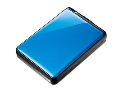 "Buffalo 1TB MiniStation Plus USB 3.0 2.5"" Portable Hard Drive (Slim / Shock Proof) Blue"