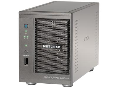 NetGear ReadyNAS Duo V2 (2 Bay) - No Drives Included