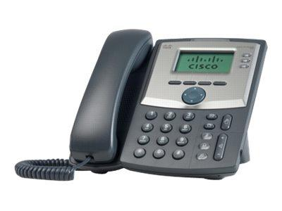 Cisco IP Phone/3Line w/Display+PC Port/EU Plug