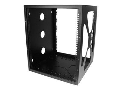 StarTech.com 12U 19in Wall Mount Side Mount Open Frame Rack Cabinet