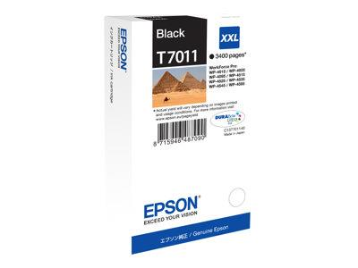 Epson Print cartridge - XXL - 1 x black - 3400 pages - for WorkForce Pro WP4000/4500 Series