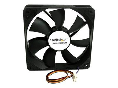 StarTech.com 120x25mm Computer Case Fan with PWM – Pulse Width Modulation Connector