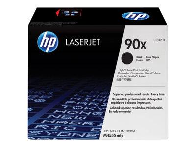 HP 90X High Yield Black Original LaserJet Toner Cartridge