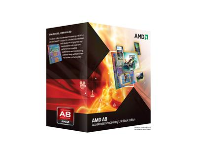 AMD A8-3870K FM1 3.0GHz 4MB 100W Black Edition Quad Core Processor