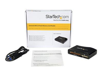 StarTech.com USB 3.0 Multi Media Flash Memory Card Reader