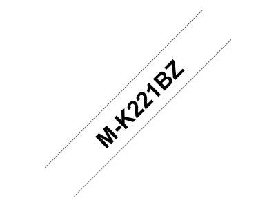 Brother M K221BZ  Label Tape (Black on White)