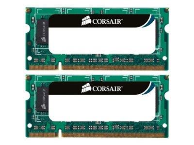 Corsair 8GB (2x4GB) DDR3 1333Mhz CL9 Value Select SODIMM  204 Pin Notebook Memory Kit
