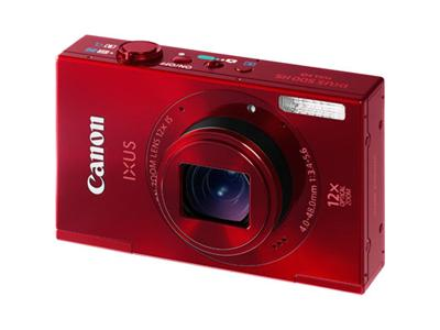 Canon IXUS 500 HS Digital Camera - Red