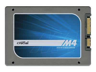 "Crucial 64GB m4 Slim 7mm SATA 6Gb/s 2.5"" Solid State Drive"