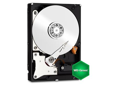 "WD 500GB Green SATA 6GB/s 64MB 3.5"" Hard Drive"