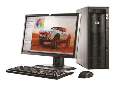 HP Z600 Workstation MT Intel Xeon E5645 6GB 160GB SSD Windows 7 Professional 64-bit