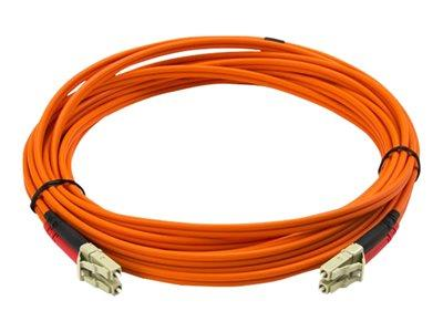 StarTech.com 5m Multimode 50/125 Duplex Fiber Patch Cable LC - LC
