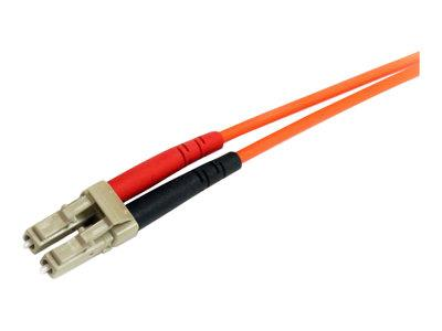 StarTech.com 3m Multimode 62.5/125 Duplex Fiber Patch Cable LC-ST