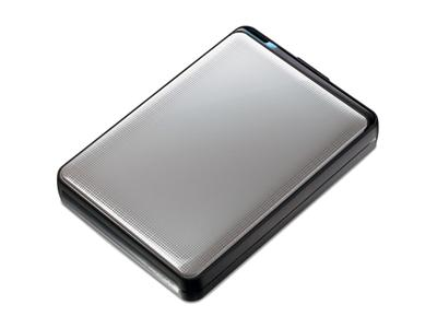 "Buffalo 500GB MiniStation Plus 2.5"" USB 3.0 Silver Shock Proof"