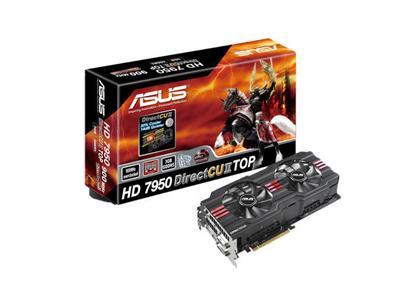 Asus ATI Radeon 7950 HD 900MHz 3GB PCI-Express 3.0 HDMI TOP OC