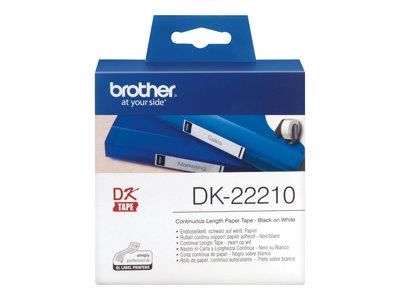Brother P-TOUCH TAPE PAPER 29MMX30.48M