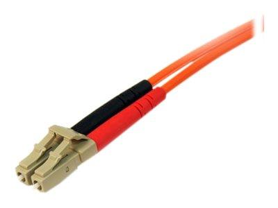 StarTech.com 3m Multimode 50/125 Duplex Fiber Patch Cable LC - LC
