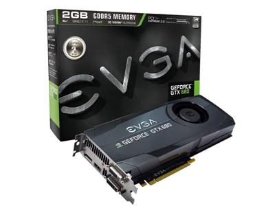 EVGA GeForce GTX 680 1006MHz 2GB PCI-Express 3.0 HDMI