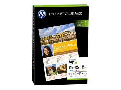 HP 951XL Officejet Value Pack-75 sheet/A4/210 x 297 mm
