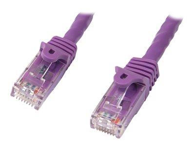 StarTech.com 15m Snagless Cat6 Patch Cable - Purple