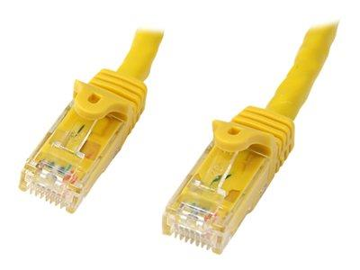 StarTech.com 15m Snagless Cat6 Patch Cable - Yellow