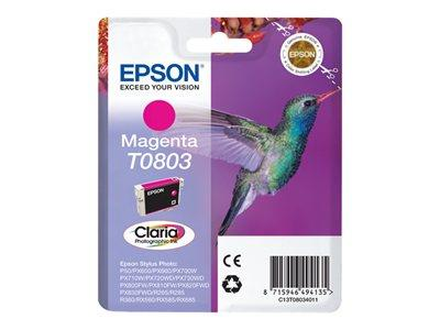 Epson T0803 Ink Cartridge - Magenta