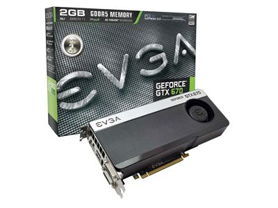 EVGA GeForce GTX 670 915MHz 2GB PCI-Express 3.0 HDMI