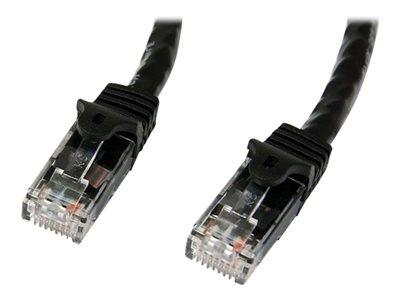 StarTech.com 7m Black Gigabit Snagless RJ45 UTP Cat6 Patch Cable
