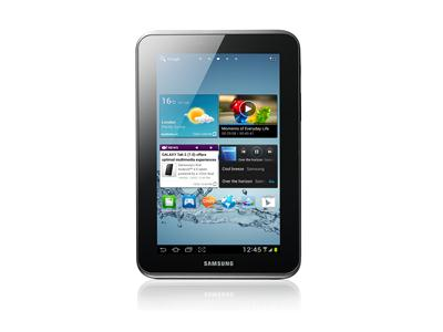 Samsung Galaxy Tab 2  7.0 Wifi 8GB Silver Android 4.0