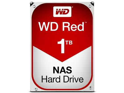 WD Red 1TB NAS Desktop  Hard Disk Drive - Intellipower SATA 6 Gb/s 64MB Cache 3.5 Inch - WD10EFRX