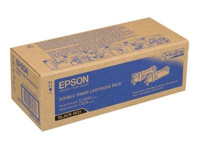 Epson Toner Cartridge Economy Pack Black 3000 Pages AcuLaser