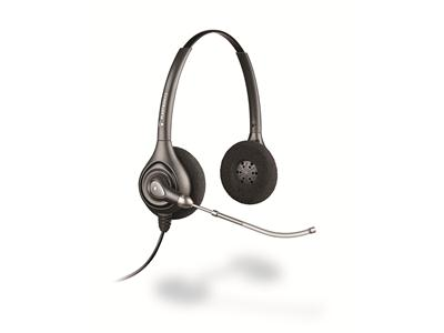 Plantronics SupraPlus HW261H - Binaural,Hearing Aid Compatible/Hard of Hearing Headset (EMEA)