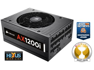 Corsair AX1200i 1200W Digital ATX Power Supply 80 PLUS® Platinum