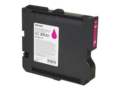 Ricoh Magenta Gel - High Yield GC 31MH  (4,000 prints)