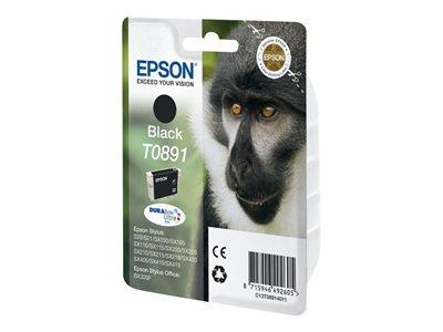 Epson T0891 - Print cartridge - 1 x black
