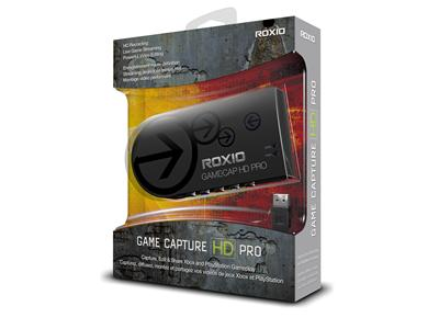 Roxio Game Capture HD PRO - video input adapter - USB 2.0