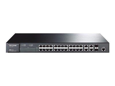 TP LINK JetStream 24-Port 10/100Mbps + 4-Port Uplink Managed Switch